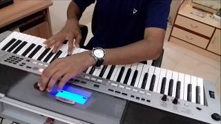 Video Aaja sanam-(Chori Chori)-Instrumental On Keyboard download in MP3, 3GP, MP4, WEBM, AVI, FLV January 2017