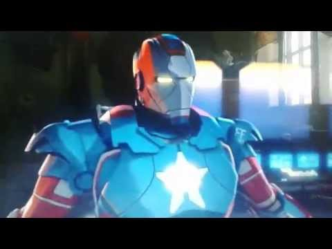 IRON MAN And Captain America Heroes United 2014 7/8
