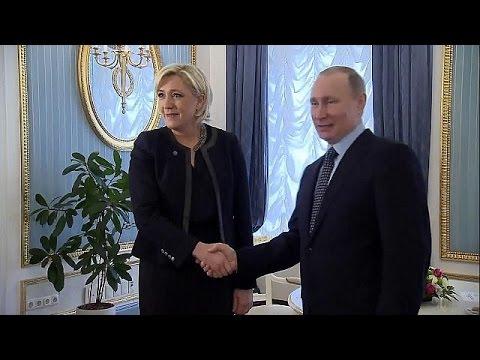 Ρωσία: Την Μαρίν Λεπέν υποδέχθηκε στο Κρεμλίνο ο Βλαντιμίρ Πούτιν