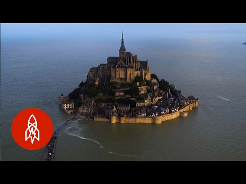 Timeless Beauty of Mont SaintMichel A Medieval Island Abbey Near Normandy