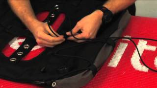 Technical Diving: How to Install Gusset Control Cord on a Classic EXP Wing: Dive Rite