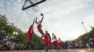 Chicago native and NBA superstar, Anthony Davis, played host to the inaugural Red Bull Reign three-on-three basketball ...