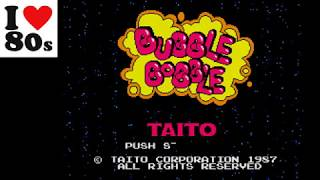 Bubble Bobble (MSX Emulated) by Giorvam