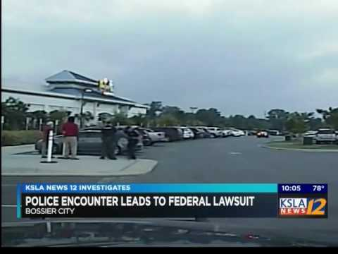 Dash Cam Video Shows Bossier City Police Arrest That Led To A Federal Lawsuit