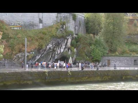 Chapelet du 25 septembre 2020 à Lourdes