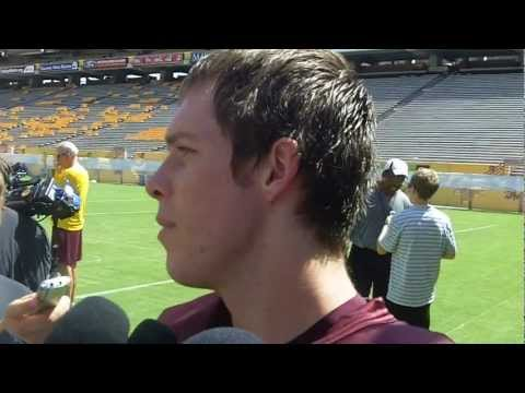 Taylor Kelly Interview 8/28/2012 video.