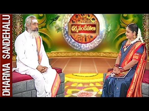 Sri Annadanam Chidambara Sastry || Dharma Sandehalu || 8th April 2016 || Bhakthi TV