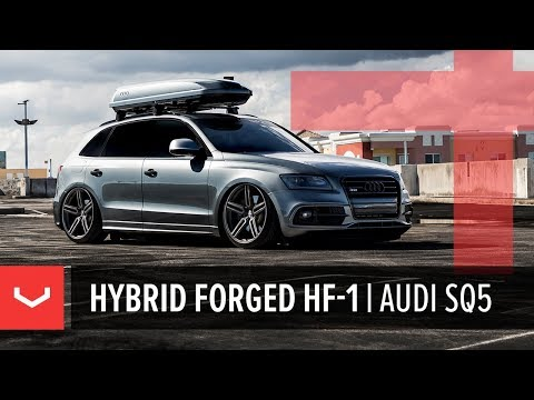 Vossen Hybrid Forged HF-1 Wheel | Audi SQ5 | Tinted Matte Gunmetal