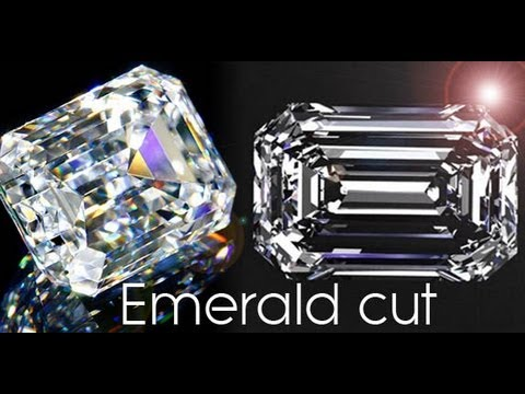 Emerald Cut Engagement Rings - info and price comparison - round vs emerald cut