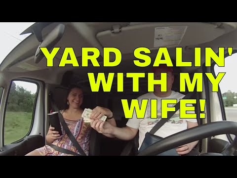 Husband & Wife Garage Sale Ridealong & HAUL!