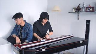 Kevin Aprilio Feat. Luthfi Aulia - RAHASIA CINTA Kahitna COVER