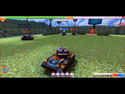 Tanki Online : rank up (Aflapoid-s)