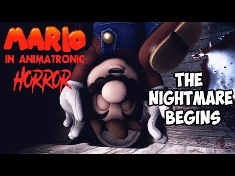 MARIO IN ANIMATRONIC HORROR - THE NIGHTMARE BEGINS | CHAPTER 3 - THE BLOODY ENDLESS SEA ( PART 1 )