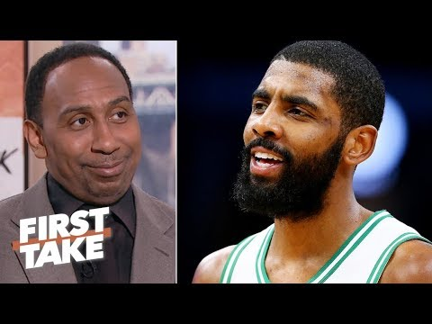 Stephen A. hints that Kyrie Irving might join the Lakers in free agency  First Take