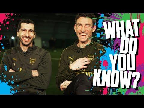 CAN YOU NAME ARSENAL'S TOP GOALSCORERS? | Mkhitaryan v Koscielny | What do you know? | Quiz