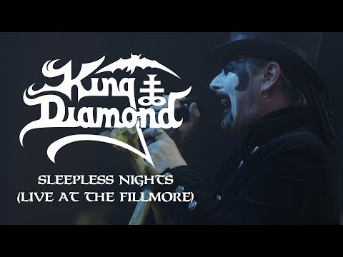 "King Diamond ""Sleepless Nights (Live at The Fillmore)"" (OFFICIAL)"