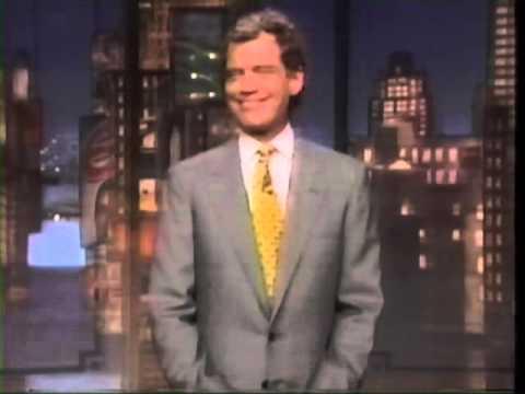 Late Show with David Letterman opening monologue May 24 1995
