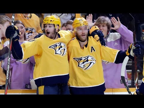 Video: Predators score four, cruise to win over Blues