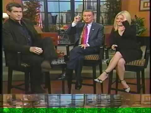 Live with Regis and Kelly November 22, 2002 pierce brosnan