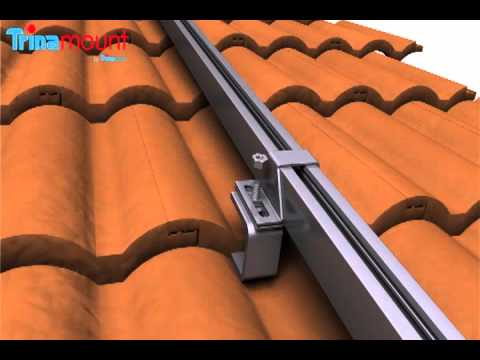Trinamount :  for Tiled Roofs Installation (Solar Mounting)