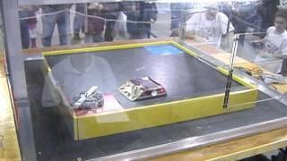 Deathbot Vs Mowbot - Kilobots 4