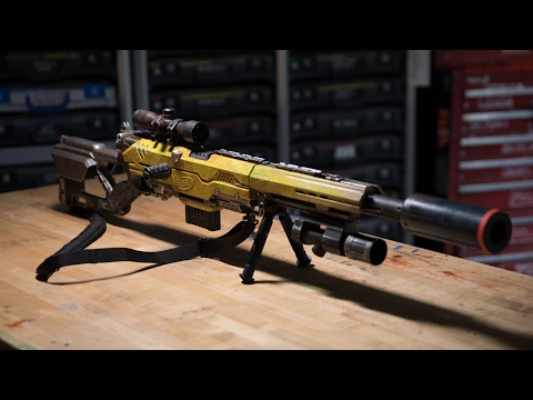 Video Adam Savage's One Day Builds: Custom NERF Rifle download in MP3, 3GP, MP4, WEBM, AVI, FLV January 2017