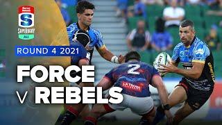 Force v Rebels Rd.4 2021 Super rugby AU video highlights | Super Rugby Video