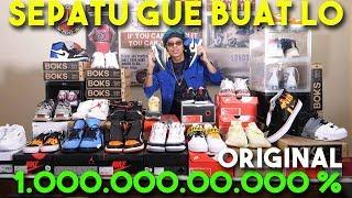 Video SEPATU2 GW BUAT LO! 1.000.000.000% ORIGINAL MP3, 3GP, MP4, WEBM, AVI, FLV Maret 2019