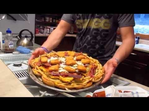 meat lovers - new AnT11521 every friday! This week me and my brother make a meat lovers pizza.