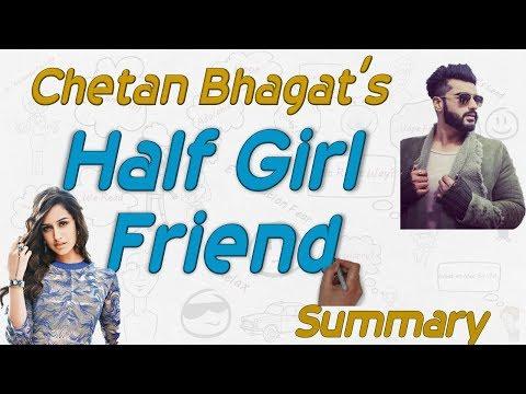 """Chetan Bhagat's """"Half girlfriend"""" Summary in Hindi, Half girlfriend Movie Story"""