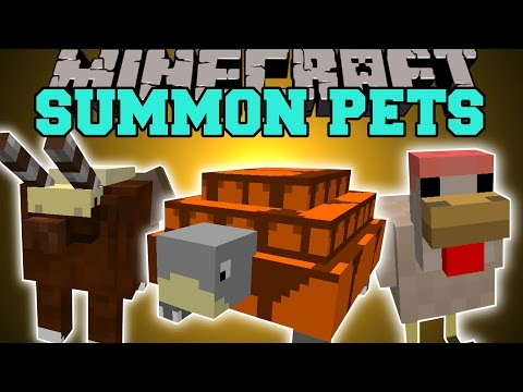 pets - This part of the WildyCraft Mod adds in pets you can summon that have useful abilities! Enjoy the video? Help me out and share it with your friends! Like my Facebook! http://www.facebook.com/pages...