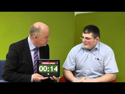 Conor Doherty, CR Signs takes 'The 60 Second Challenge' with Omagh Enterprise Company