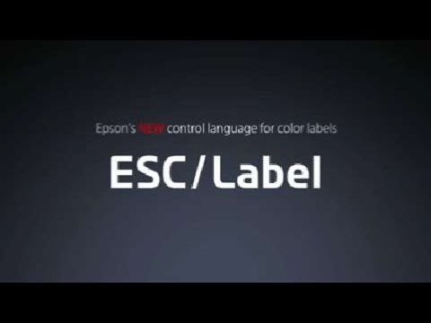 Explore Epsons ColorWorks C7500 New Control Language For Color Label Printers