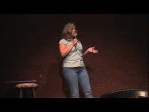Shannon Miller at the Comedy Caravan, Louisville Ky