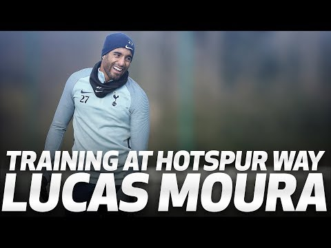 LUCAS MOURA TRAINS AT HOTSPUR WAY (видео)