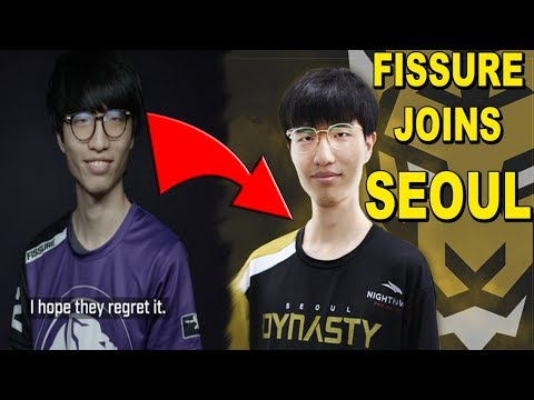 BREAKING NEWS: Fissure LEAVES LA Gladiators And Joins SEOUL DYNASTY!