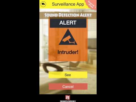 App Preview Video for the Surveillance App