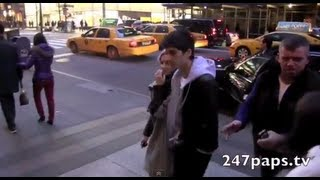 (Exclusive) Niall Horan And Zayn Malik With Perrie Edwards out and About in NYC