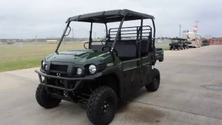 8. $15,899:  2016 Kawasaki Mule Diesel Pro DXT LE Timberline Green Overview and Review