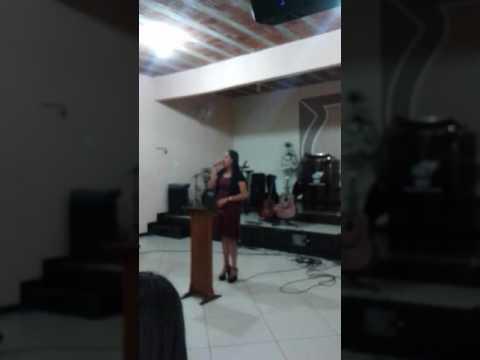 IRMÃ JOSIANE NA IGREJA BATISTA DO CALVARIO EM ITANHOMI