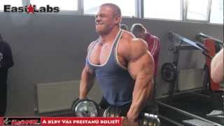Alexei Lesukov - shoulders & biceps workout
