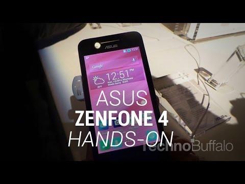 Asus ZenFone 4 - Hands On - CES 2014