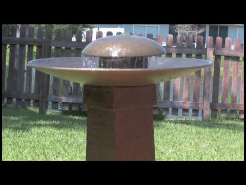Video for Portland Sound Copper Outdoor Floor Fountain