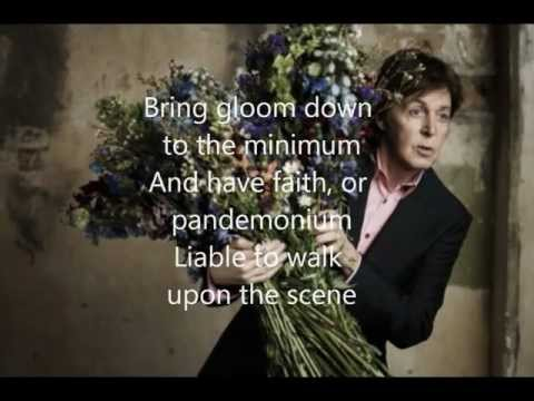 Tekst piosenki Paul McCartney - You got to ac-cent-tchu-ate the positive po polsku