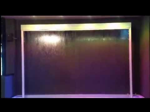 ม่านน้ำไหลผ่านกระจกสำเร็จรูปจากเยอรมัน รุ่น 0zone