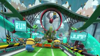 On-Ride scene - Despicable Me: Minion Mayhem scene at Universal Orlando