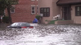 Portsmouth (VA) United States  City new picture : Amazing Street Flooding and Storm Surge footage from Portsmouth, VA - 10/2/2015