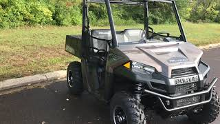 8. 2019 Polaris Ranger 570 LE