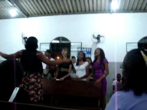 culto da Igreja evagelica Assembléia de Deus em Camacari ba.2011.