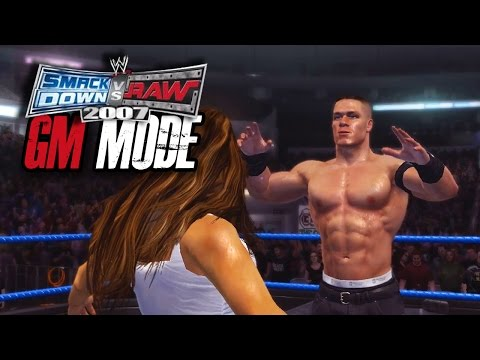 """WWE Smackdown vs Raw 2007 - GM MODE - """"INTERGENDER MATCH!!"""" (Ep 7)"""